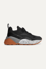 Stella McCartney Eclypse faux leather, faux suede and neoprene sneakers