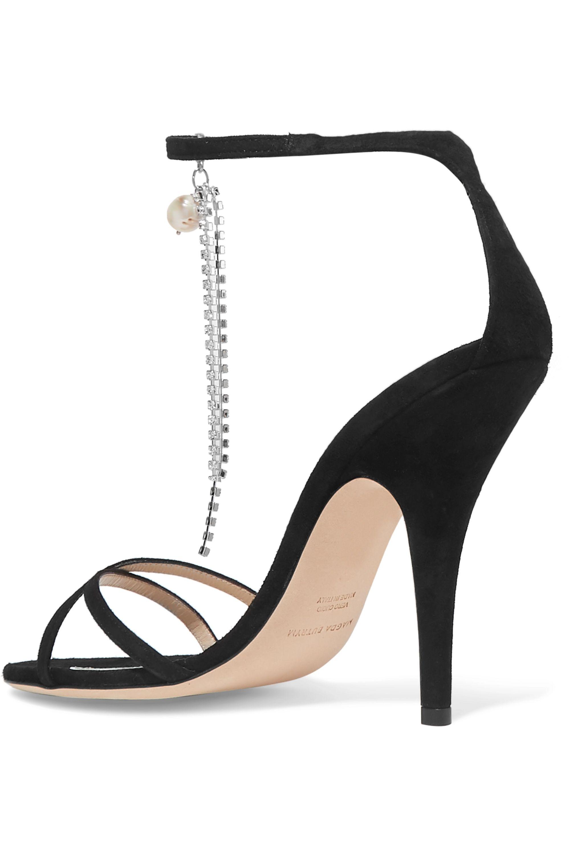 Magda Butrym Ireland embellished suede sandals