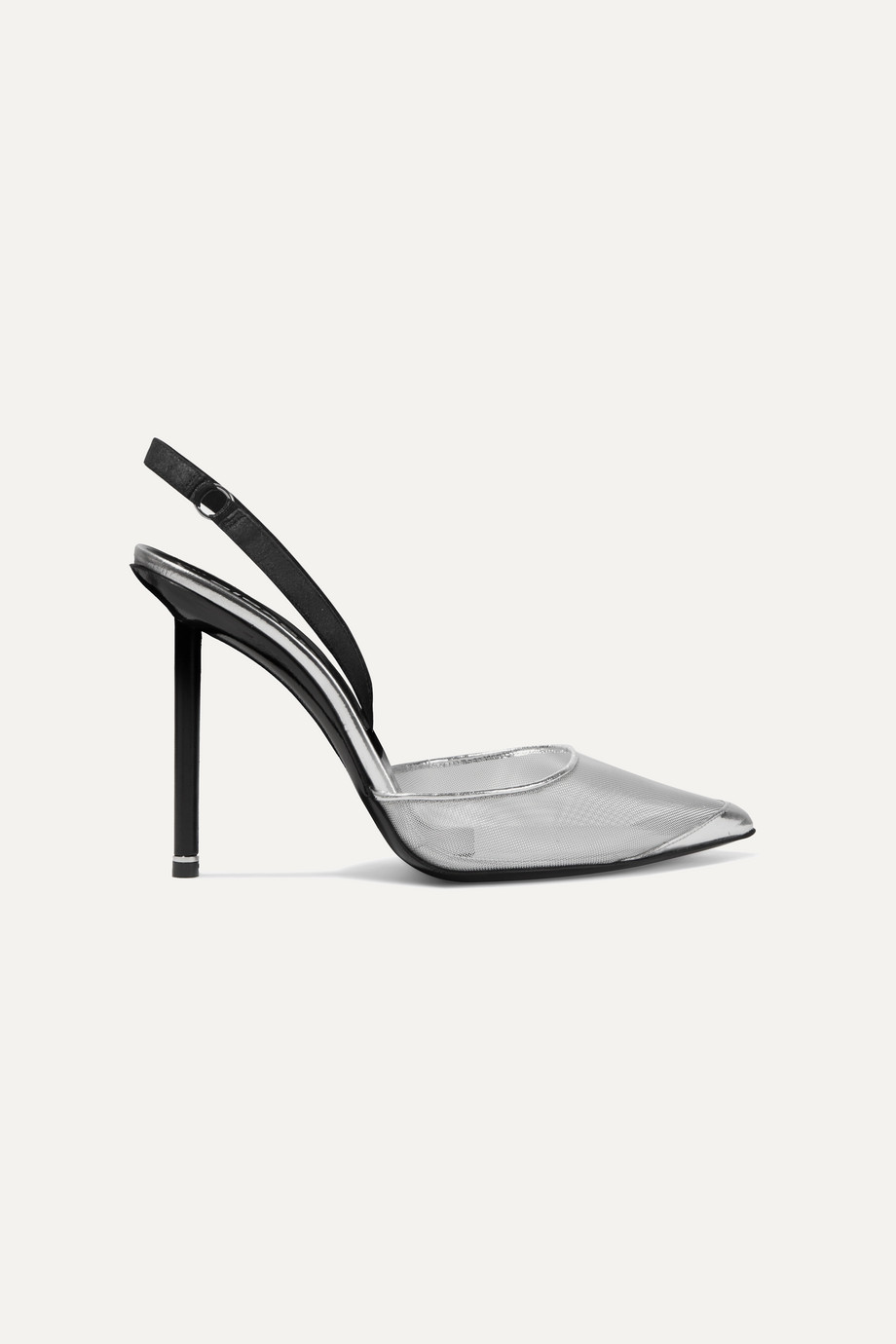 Exact Product: Kylie Jenner Transparent Pumps 2019, Brand: Alexander Wang, Available on: net-a-porter.com, Price: $650