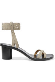 Isabel Marant Joakee studded suede sandals