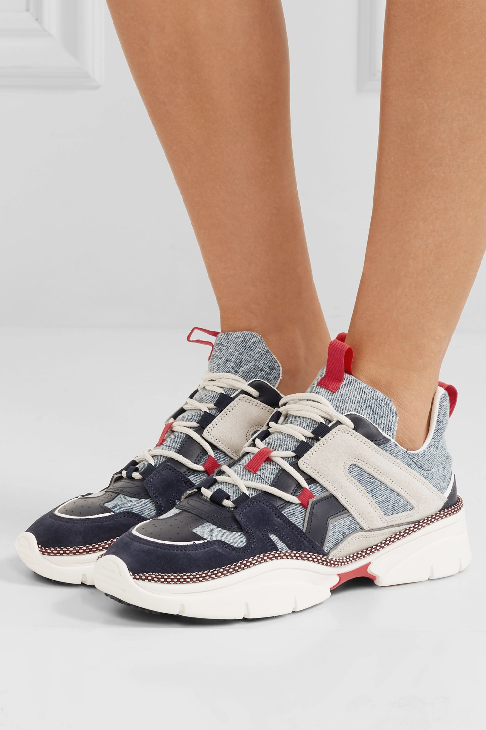 leather sneakers | Isabel Marant