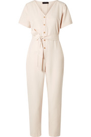 The Noelle washed-twill jumpsuit