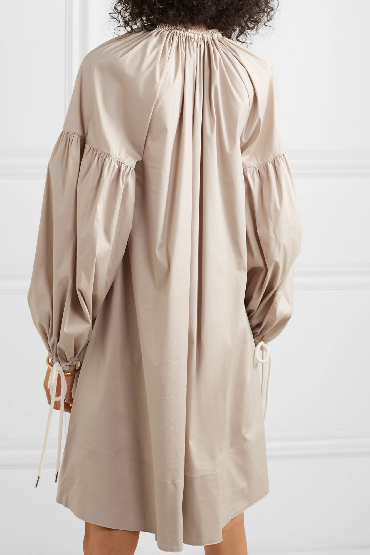 Lee Mathews Elsie oversized cotton-blend poplin dress