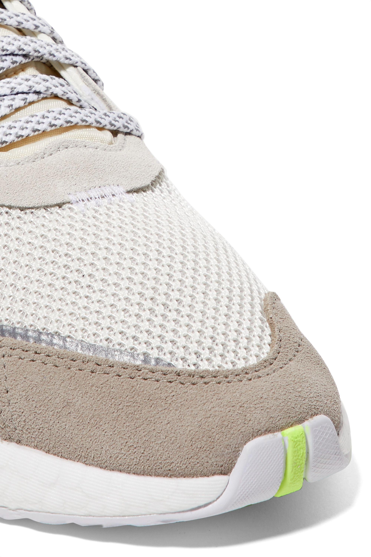 adidas Originals Nite Jogger ripstop, mesh and suede sneakers