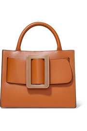 Bobby 23 buckled leather tote