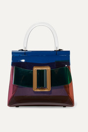 BOYY Karl buckled color-block PVC and leather tote