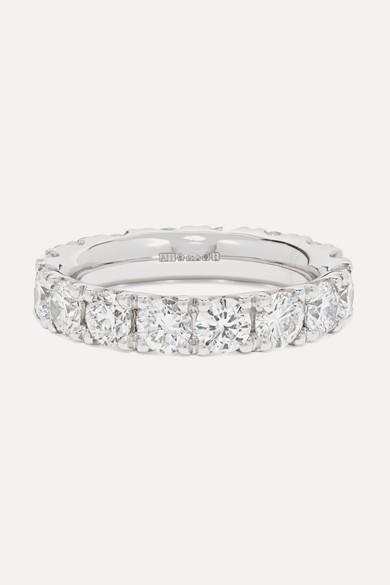 AMRAPALI Platinum Diamond Ring in Gray