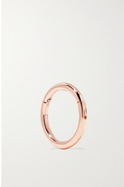 Maria Tash 6.5mm 14-karat rose gold hoop earring