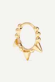 Maria Tash 8mm 14-karat gold hoop earring