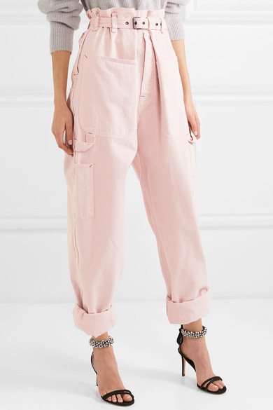 Inny Cotton Tapered Pants by Isabel Marant