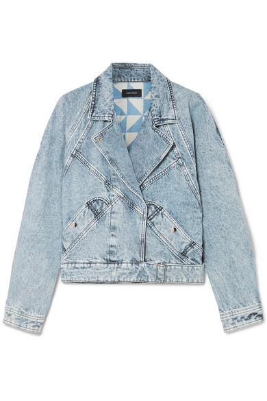 0aee990ed Ravena cropped stonewashed denim jacket
