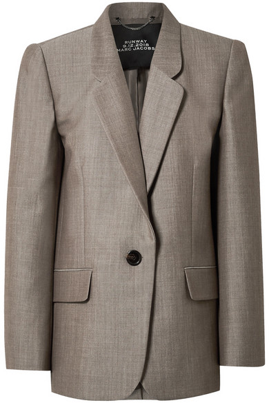 Marc Jacobs Blazers Oversized wool and mohair-blend blazer