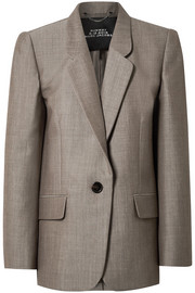 Marc Jacobs Oversized wool and mohair-blend blazer
