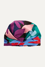 The Muse printed shower cap