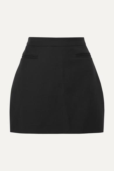 ANNA QUAN | ANNA QUAN - Jessie Wool Mini Skirt - Black | Goxip