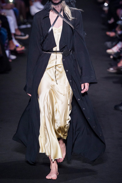 Ann Demeulemeester Tops Silk-satin camisole