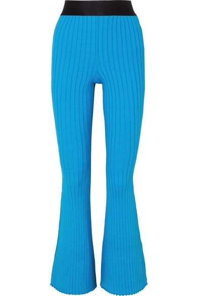 Ellery Knits Neo Dada ribbed-knit flared pants