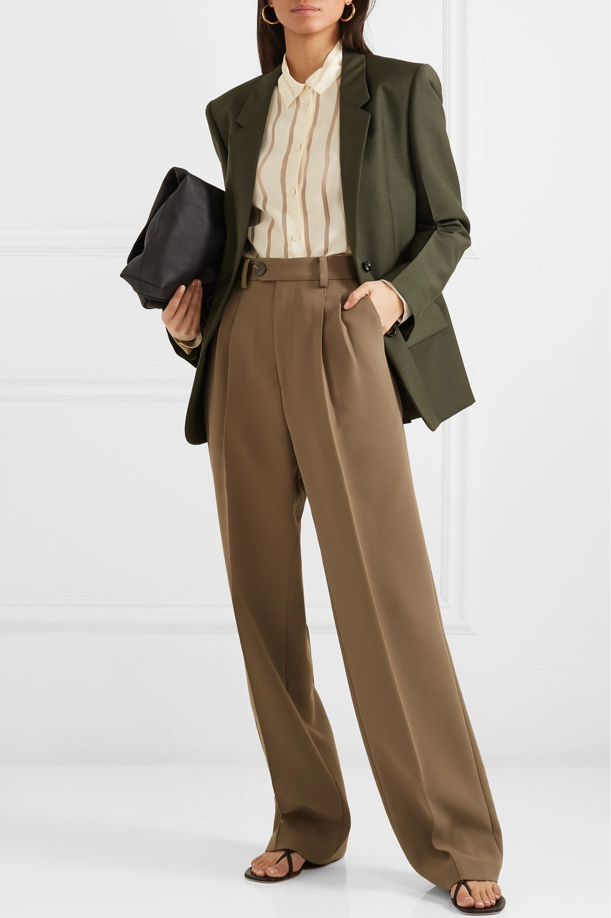 Bottega Veneta Mohair and wool-blend blazer
