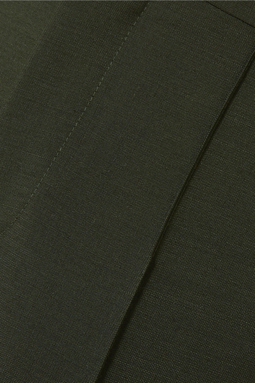 Bottega Veneta Cropped mohair and wool-blend slim-leg pants