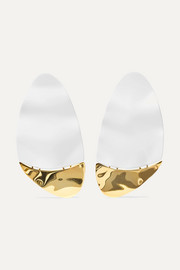 Gilot coated gold-plated earrings