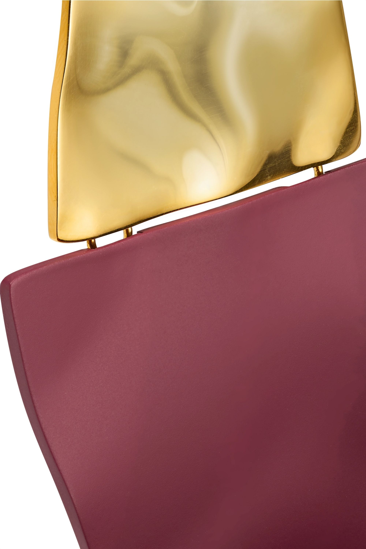 Nausheen Shah x Monica Sordo Shah coated gold-plated earrings