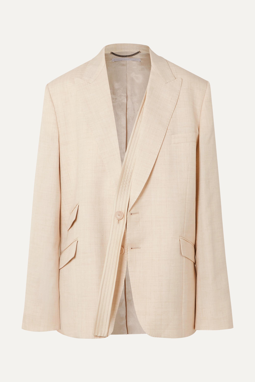Stella McCartney Oversized woven blazer