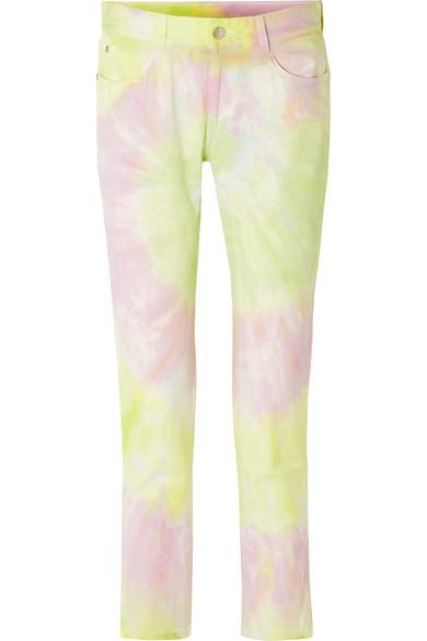 Stella Mccartney Jeans Tie-dyed slim boyfriend jeans