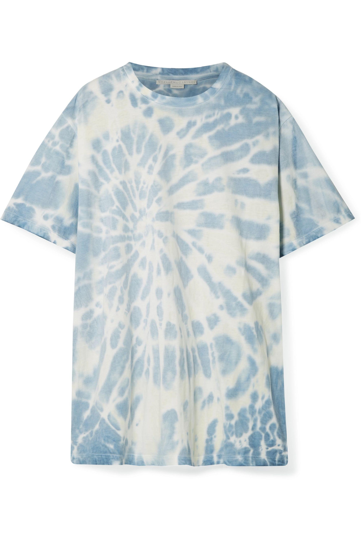 Stella McCartney Oversized-T-Shirt aus Baumwoll-Jersey mit Batikmuster