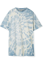Oversized tie-dye cotton-jersey T-shirt