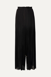 Elena Makri Tegea pleated silk-tulle pants