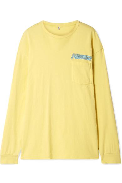 a890dcc522 R13 | Oversized printed cotton-jersey top | NET-A-PORTER.COM
