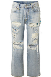 R13 Milton distressed boyfriend jeans