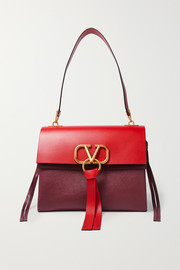 Valentino Valentino Garavani VRING medium color-block shoulder bag