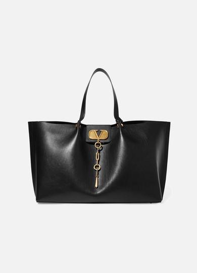 109f26de4ed0 Valentino. Valentino Garavani Go Logo Escape large leather tote