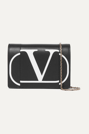 Valentino Valentino Garavani printed leather shoulder bag