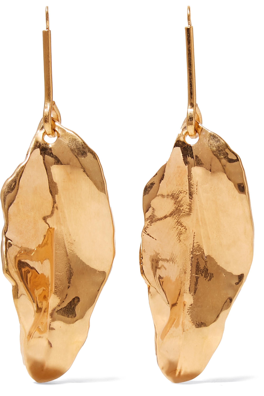 Marni Gold-plated earrings