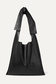 로에베 LOEWE Bow oversized leather shoulder bag