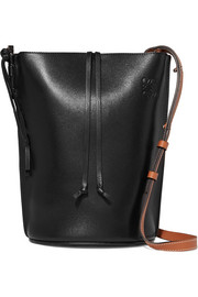Gate small leather bucket bag