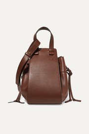 Hammock medium leather shoulder bag