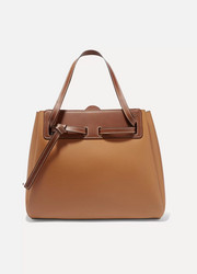 Loewe Lazo two-tone leather tote