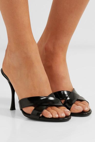 c40c9db07fb57 Dolce & Gabbana | Patent-leather mules | NET-A-PORTER.COM