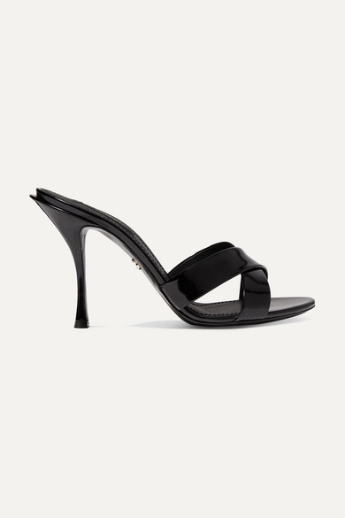 Patent Leather Mules by Dolce & Gabbana