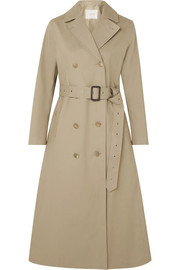 Mackintosh Belted bonded cotton trench coat