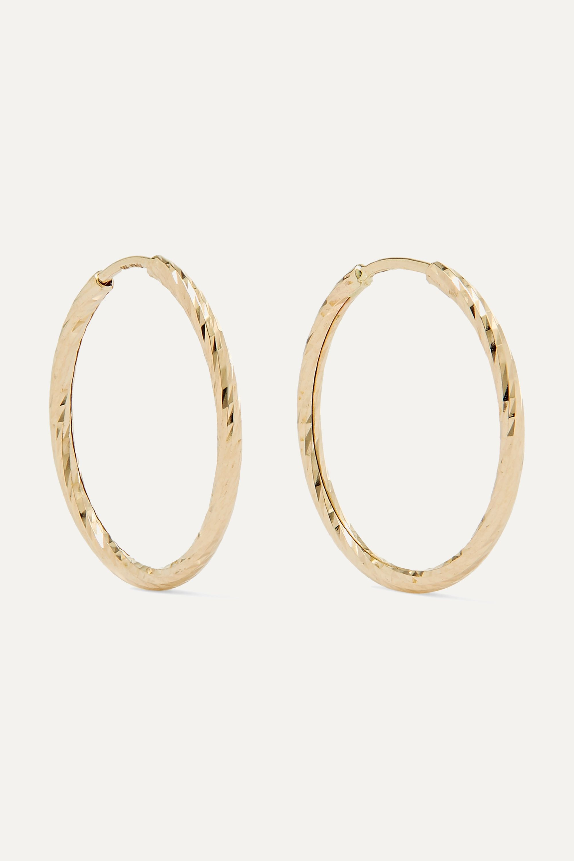 Maria Black Liv gold hoop earrings