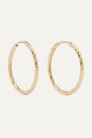 Liv gold hoop earrings