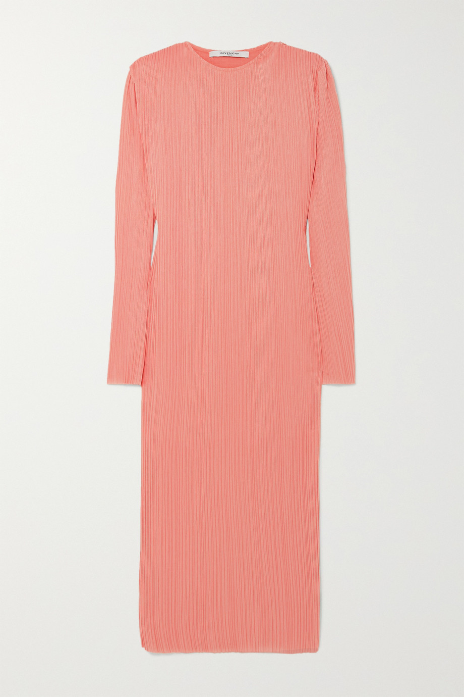 Givenchy Plissé-crepe midi dress