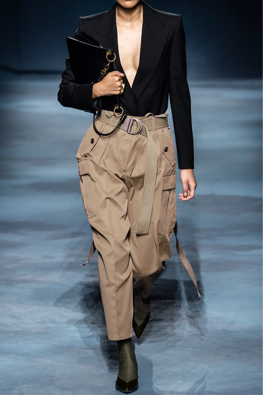 Givenchy Pantalon fuselé tissé