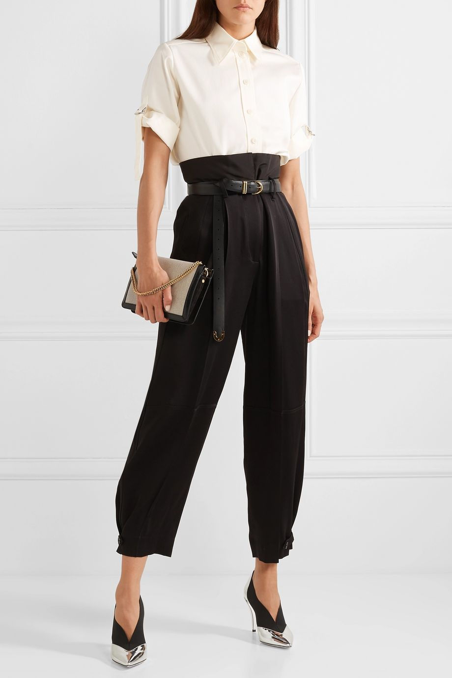 Givenchy Oversized textured-cotton shirt