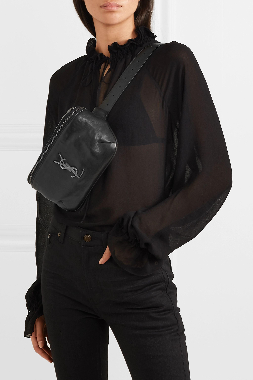 SAINT LAURENT Classic leather belt bag