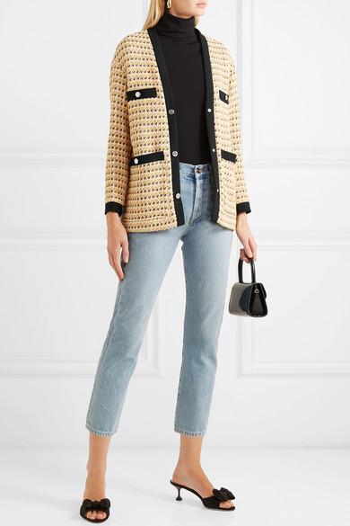 veste tweed femme maje